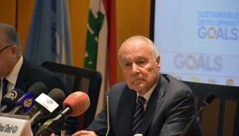 Secretario Liga Árabe considera nula la decisión de Trump sobre Jerusalén