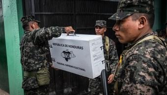 Avanza escrutinio especial para definir presidente electo de Honduras