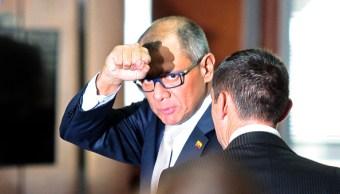 Congreso de Ecuador aprueba juicio político contra vicepresidente por caso Odebrecht