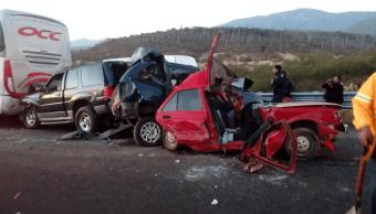 Carambola en carretera entre límites de Oaxaca y Puebla deja dos muertos