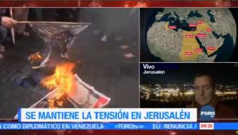 Alberto Peláez Informa Mantiene Tensión Jerusalén