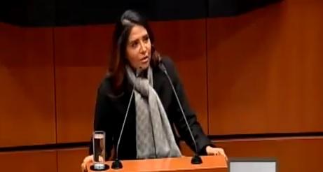 Presenta Alejandra Barrales licencia para contender por jefatura de Gobierno