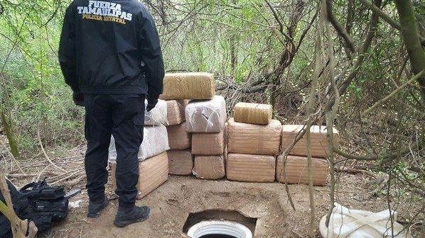 aseguran mas de 286 kilos de marihuana en reynosa tamaulipas