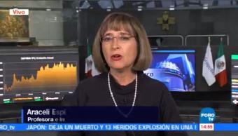 Analizan Desempeño Economía México 2017 Araceli Espinosa experta financiera
