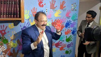 armando ahued visita la fundacion ser humano en la ciudad de mexico