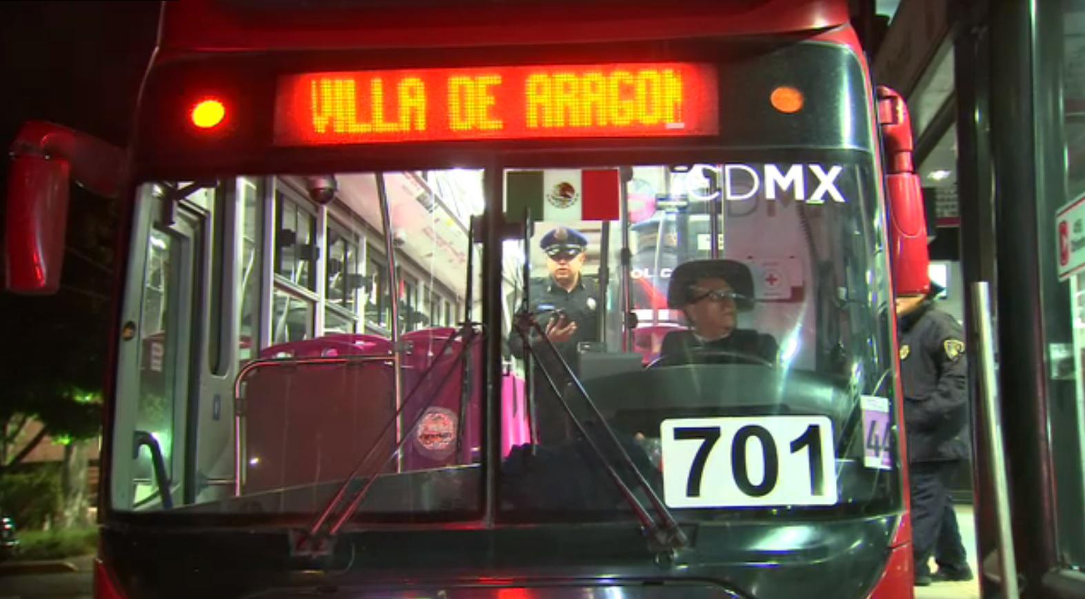 asaltan metrobus en la linea 6 en aragon