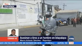 Asesinan Hombre Calzada Ermita Iztapalapa Cdmx