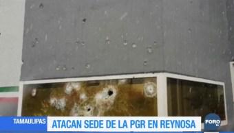 Atacan sede de la PGR en Reynosa, Tamaulipas