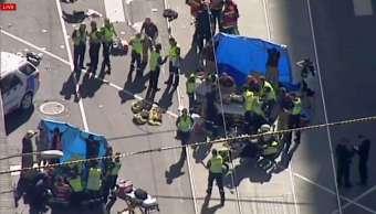 Sin evidencia de terrorismo en atropellamiento de Melbourne dice la Policía
