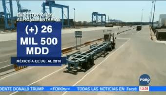 Aumentan Envíos Agropecuarios Estados Unidos México