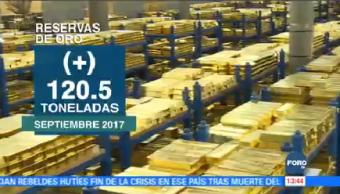 Aumentan Reservas Oro México Consejo Mundial Del Oro