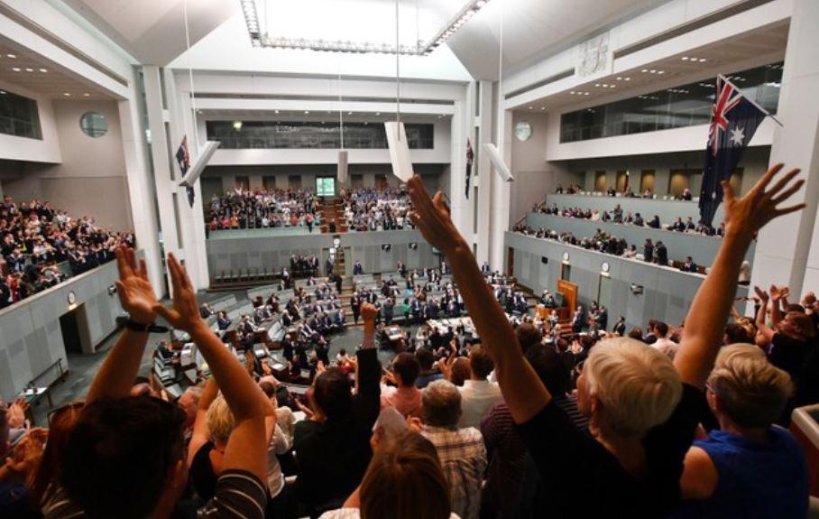 parlamento australiano aprueba proyecto ley bodas homosexuales