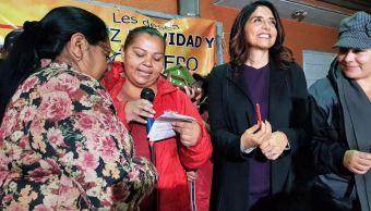 alejandra barrales pide prudencia durante las precampanas