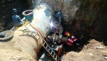 concluye reparacion sistema cutzamala comision agua