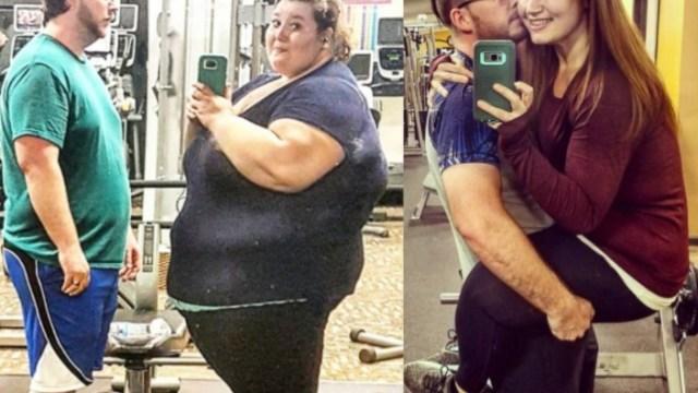 Pareja pierde 180 kilos y comparte historia