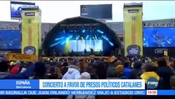 Concierto Favor Presos Políticos Catalanes España