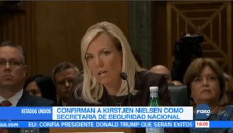 Confirma Kirstjen Nielsen Secretaria Seguridad Nacional