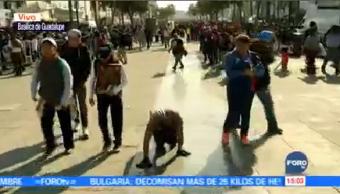Continúa Arribo Peregrino Basílica Guadalupe Delegación Gustavo A Madero
