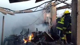 incendio daña carpinteria en guadalajara jalisco