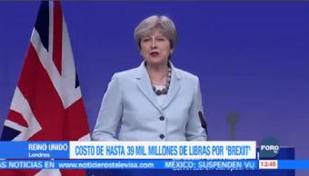 Costo Económico Salida Reino Unido UE Justo