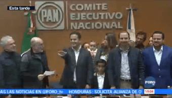 Damián Zepeda Rinde Protesta Presidente Nacional Pan Vidales