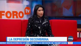 Depresión Temporada Decembrina Estela Duran Doctora Psicología