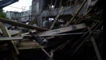 Derrumbe en Instituto Marista en Campeche deja dos muertos y 13 heridos