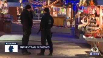 Desalojan Mercado Alemania Nuevamente Peligro Ataque Terrorista