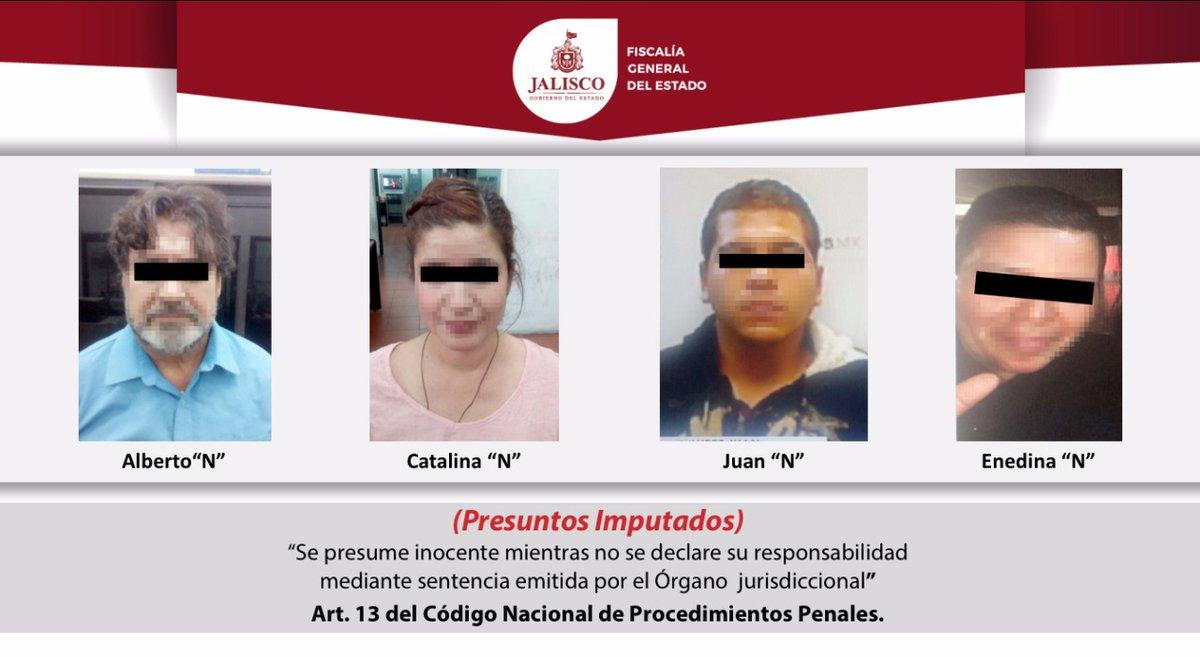 Aseguran a 4 presuntos homicidas de Alexandra Castellanos