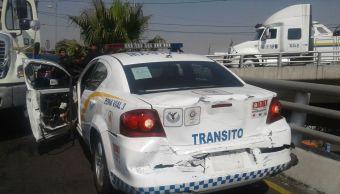 Detienen a chofer que huyó de la Policía CDMX y volcó en Taxqueña