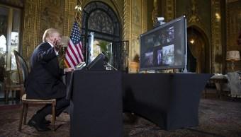 Trump desea feliz Navidad a militares estadounidense desplegados en el exterior