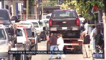 Eduardo Sánchez Asume Mando Policía Temixco