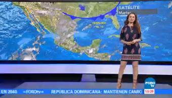 Clima A Las Tres Mayte Carranco Nuevo Sistema Frontal
