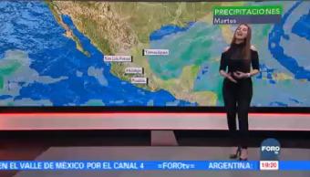 Clima En Una Hora Mayte Carranco Esperan Precipitaciones