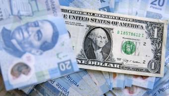 El dólar abre en 19.48 pesos