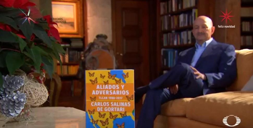 El expresidente de México Carlos Salinas de Gortari