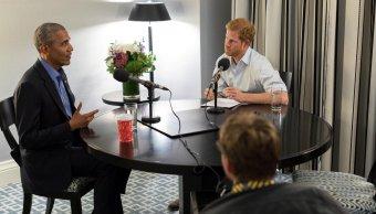 El príncipe Enrique entrevista a Obama para la BBC