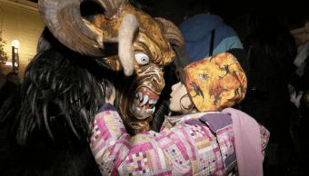 El Krampus, un ayudante de Santa Claus