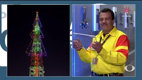 Encendido del árbol de Navidad de Televisa