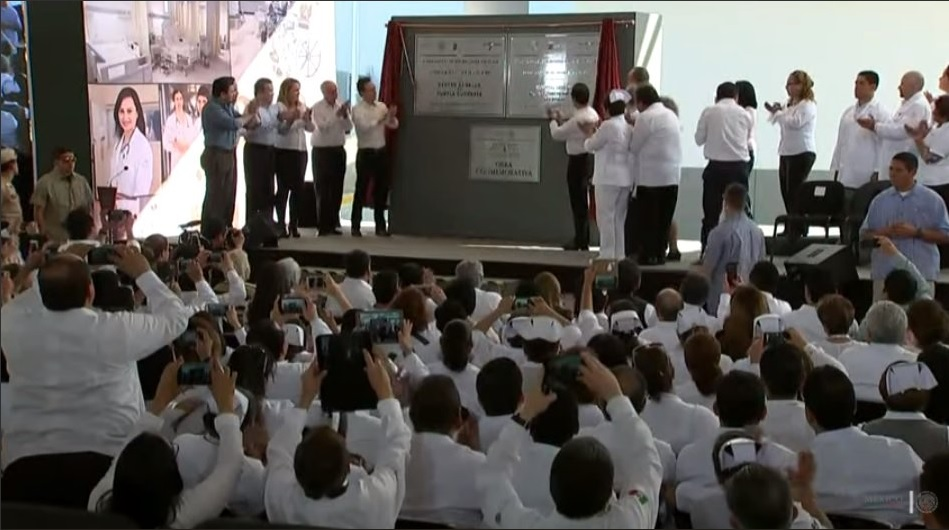 #AlertaADN EPN inaugura hospital del ISSSTE en Chiapas