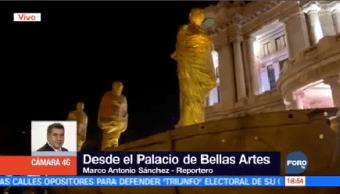 Escultura Jorge Marín Exhibe Explanada Bellas Artes