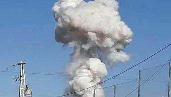 Explotan tres polvorines en Jilotepec, Estado de México