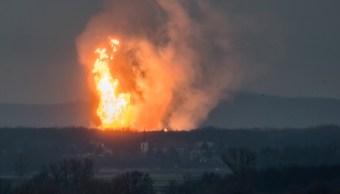 Explosión de gasoducto en Austria afecta suministro a varios países