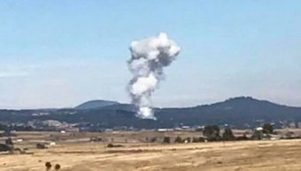 suman seis personas muertas explosion polvorin jilotepec