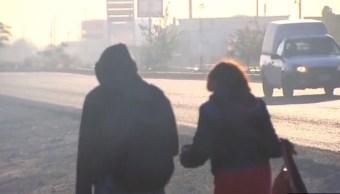 Nuevo frente frío provocará fuertes vientos en el norte de México.(Archivo/Noticieros Televisa)