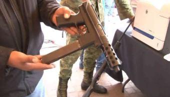 ejercito destruye armas guanajuato decomisadas entrega