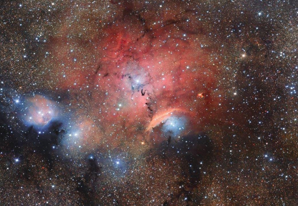 Telescopio de la ESO muestra fenómenos astronómicos de guardería estelar