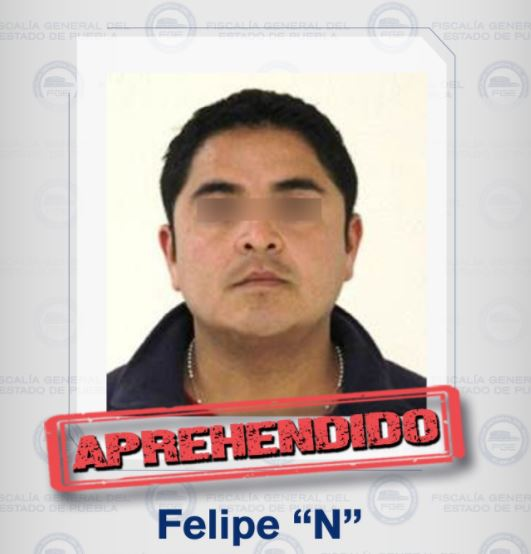 Detienen a presunto homicida de automovilista en Puebla