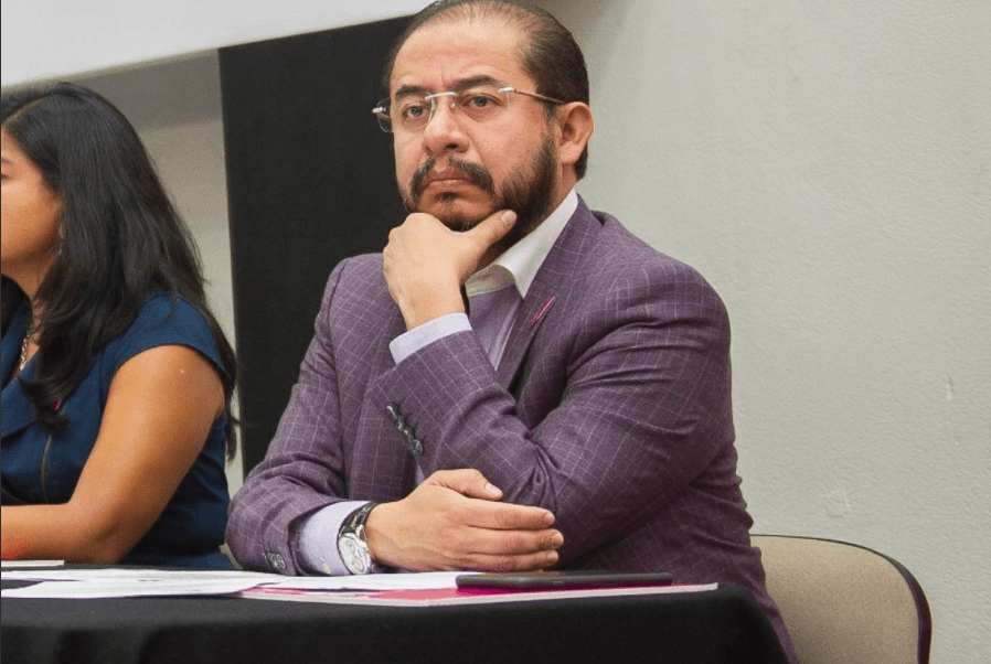 Hugo Eric Flores, líder nacional del PES