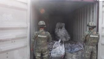 marina cocaina manzanillo colima contenedor puerto
